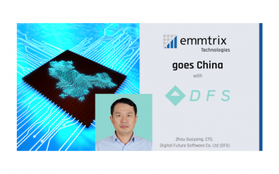 emmtrix Technologies goes China with DFS