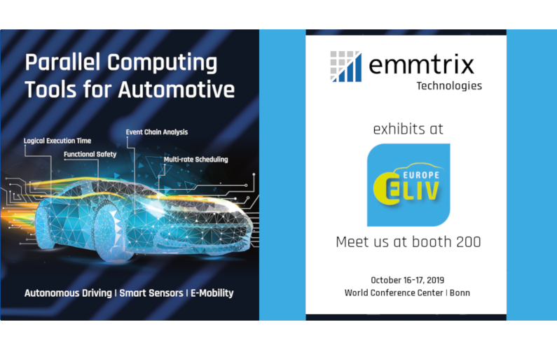 emmtrix Technologies exhibits at ELIV 2019